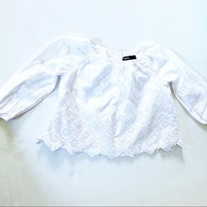 Baby Gap 12m white top